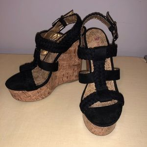 JustFab wedges -size 7